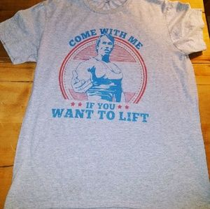 """Other - Men's  """" Follow me to the gym ...""""  T-shirt"""
